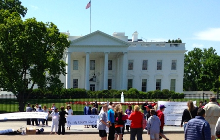 Mothers of Lost Children 2012 March on the White House